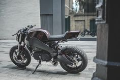Buell XB9 City X cafe racer by deBolex Engineering