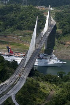 Panama Canal by Carnival Cruise Lines, via Flickr