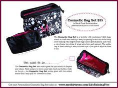 f68012b452d9 One of my favorites -- Thirty-One s Cosmetic Bag Set www.mythirtyone.