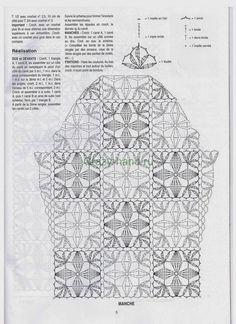 View album on Yandex. Crochet Bolero, Pull Crochet, Crochet Shirt, Crochet Jacket, Crochet Diagram, Thread Crochet, Crochet Cardigan, Crochet Motif, Crochet Patterns