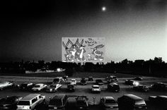 Drive-ins.  Oh, drive-ins.  Double features, cartoons at intermission.  And bench seats.