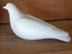 Life-sized Dove Sculptures