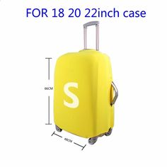 Travel Luggage Cover Art Metal Copper Man Suitcase Protector Fits 18-20 Inch Washable Baggage Covers