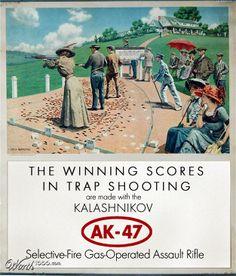 The famous Kalashnikov