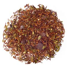 Mint Chocolate Rooibos-Everyone falls for this sweet mix of rooibos, mint and chocolate chips.