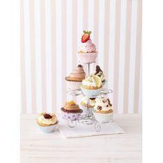 Birkmann 431089 Cup Cake Butler, Etagere aus Edelstahl