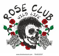 Red rose and skull graphic design Flower Vector Art, Flat Sketches, Tattoo Graphic, Free Vector Graphics, Red Roses, Skull, Symbols, Graphic Design, Make It Yourself
