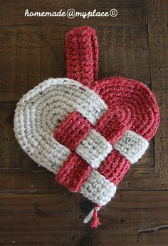 homemade@myplace: #Crochet Danish Hearts