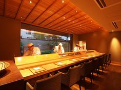 Jonathan Alonso - Top Restaurants   Best Places to Eat  Site : www.thejonathanalonso.com   #toprestaurants #speakeasybar #winebar  #wheretoeat #diningexperience #outonthetown #foodie #JonathanAlonso Sushi Bar Design, Speakeasy Bar, Sushi Restaurants, Best Places To Eat, Ceiling Design, Architecture Design, Traditional, Interior, Outdoor Decor