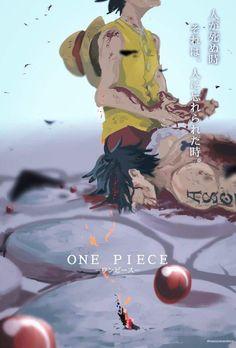 Beautifully drawn but painfully sad luffy and ace one piece One Piece Anime, Ace One Piece, One Piece Figure, One Piece Comic, One Piece Funny, One Piece World, One Piece Fanart, Anime One, Anime Girls