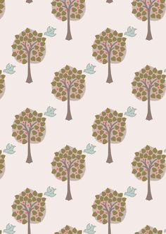 Lewis & Irene Patchwork Quilting Fabric Dove House - Love tree on light cream Dove House, Fabric Tree, Dressmaking Fabric, Peaceful Places, Light Cream, Cotton Quilts, Fabric Online, Irene, Handmade Items