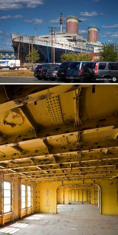 abandoned ocean liner SS United States