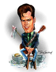 robin williams caricatures | Randy Travis Caricature