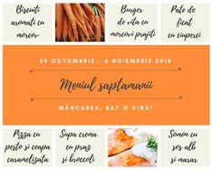 Meniul saptamanii 29 octombrie - 04 noiembrie - Mâncarea, bat-o vina Pesto, Broccoli, Noiembrie
