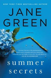 Summer Secrets by Jane Green | Charlotte's Web of Books -- One woman's battle with alcoholism is this summer's must read book!