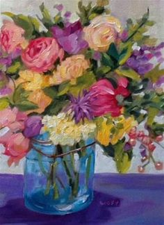"""Daily+Paintworks+-+""""Remembered+Places""""+-+Original+Fine+Art+for+Sale+-+©+Libby+Anderson"""