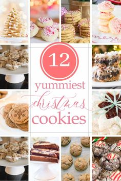 Mint Chocolate Candy Cane Kiss Cookies {& a Virtual Cookie Exchange} Cream Cheese Sugar Cookies, Sugar Cookies Recipe, Yummy Cookies, Kiss Cookies, Baking Cookies, Homemade Cookies, Holiday Cookie Recipes, Holiday Baking, Christmas Recipes