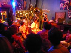 The Spotter Cat on Frenchman Street. One of the best nights ever.