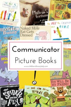 Children's Library Lady - Tags - Communication Picture Book List