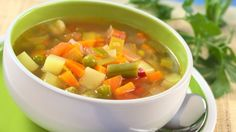Negative Calorie Soup.  Ignore this pic...it's just not right.  The recipe is much better than the photo.