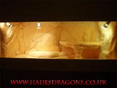 Building a Fake Rock Display Vivarium for Spyro - Hades Dragons UK