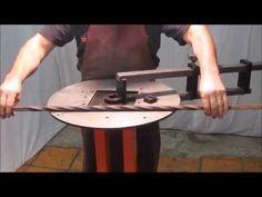 Volute en Fer avec la cintreuse à Volute Wolutor - YouTube