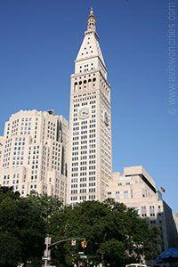 Metropolitan life insurance tower, New York - Building Info