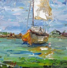 boats original paintings art for sale | Daily Painters Art Gallery, Page 12