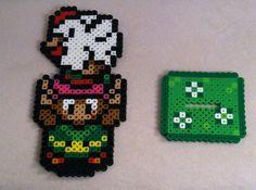 Legend Of Zelda Perler Bead Stand by TriforceInk on Etsy