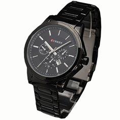 AMPM24 Analog Datums Herren Uhr schwarz Quarzuhr Edelstahl Armbanduhr - http://uhr.haus/ampm24-2/orrorr-curren-herren-uhr-analog-quarzuhr-schwarz-18