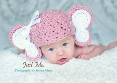 Crochet Baby Elephant Hat  Customize colors by dkcuddlemecrochet, 28.00