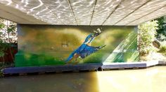 Look at these stunning murals being used to brighten up underpasses in Oxford