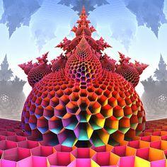3d fractal art by psion