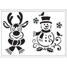 Stencil, 21x29,7 cm - Tél - Art-Export webáruház