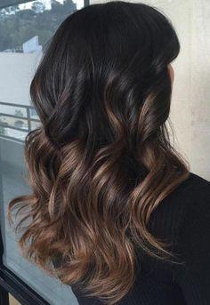 Pre bonded Keratin U Tip Ombre Human Hair Extensions 1b/6 #Sunny Hair