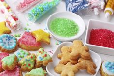 Spend the day baking with your little ones using refrigerated cookie dough—they'll love cutting out festive shapes and helping you decorate! (Just don't forget the sprinkles!) #HolidayHelper