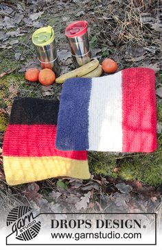 Let's Celebrate! - Free knitting patterns and crochet patterns by DROPS Design Knitting Patterns Free, Free Knitting, Free Pattern, Crochet Patterns, Drops Design, Picnic Blanket, Outdoor Blanket, Eskimo, Seat Pads