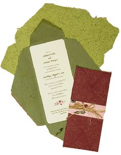 wrapping the inserts could work to ensure that the invitation makes the first impression.