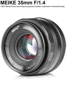 MEIKE F / Manual Focus Large Aperture Lens Compatible with Olympus Panasonic Micro Four Thirds / 3 System Mirrorless Camera Eos, Nikon Mirrorless, Canon Kamera, Best Camera Lenses, Camera Prices, Technology World, Focal Length, Olympus, Digital Camera
