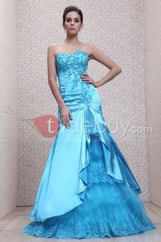 Fascinating Mermaid Sweetheart Floor-length Taline's Evening Dress
