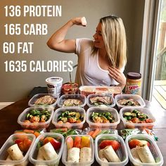 "When people are concerned about ""how little I eat"" 🤣 just flex on em 👉 I've said it before I'll say it again. This is what works for me. Lunch Meal Prep, Easy Meal Prep, Healthy Meal Prep, Healthy Snacks, Easy Meals, Healthy Eating, Healthy Recipes, 1600 Calorie Meal Plan, 1500 Calorie Diet"