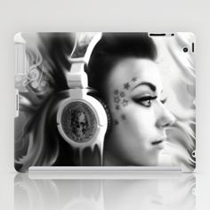 Lost in Lyric, Drowning in sound.  iPad Case by Kristy Patterson Design - $60.00