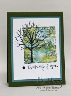 Sheltering Tree Block Stamping | Add Ink and Stamp | Bloglovin'