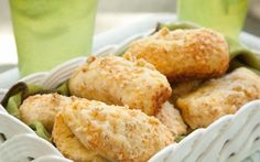 Parmesan Biscuit Loaves from Celebrate Everything! by Debbi Covington. $34.95 with FREE SHIPPING! www.cateringbydebbicovington.com