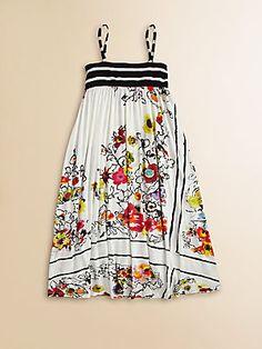 Junior Gaultier Toddler's & Little Girl's Bohemian Print Maxi Dress