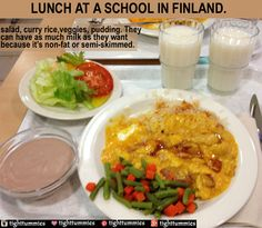 School Meals in Sweden & Finland Are So Healthy! ✿ ✿