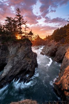 Sunset, Southern Oregon Coast, 6001x4006 #nature #photography #travel