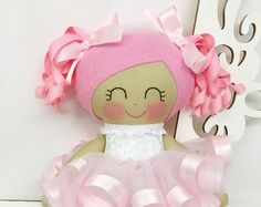 Dancing Ballerina Doll Pink Girl Toy Ballet door SewManyPretties