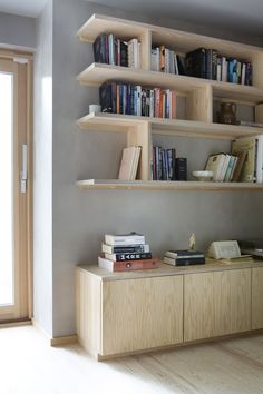 14 Ideas To Make Book Shelves Alcove Bookshelves, Bookshelf Storage, Shelving, Bookshelf Inspiration, Interior Inspiration, Alcove Storage, Book Storage, Interior Architecture, Interior Design
