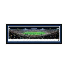 """Notre Dame Fighting Irish 16"""" x 42"""" Premium Select Frame Panoramic Photo - $149.99"""